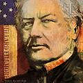 Millard Fillmore Poster by Corporate Art Task Force