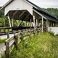 Millers Run Covered Bridge Print by Edward Fielding