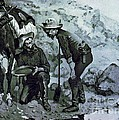 Miners Prospecting Print by PG REPRODUCTIONS