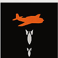 Minimalist book cover Joseph Heller catch 22 Print by Budi Satria Kwan