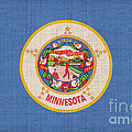 Minnesota state flag Poster by Pixel Chimp