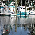 Mississippi Boats Print by Carol Groenen