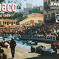 Monaco 1969 Poster by Nomad Art And  Design