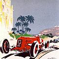 Monaco Grand Prix 1934 Poster by Nomad Art And  Design