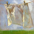 Monday is Wash Day Print by Donna Shortt
