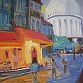 Monmartre Poster by Julie Todd-Cundiff