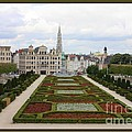 Mont des Arts towards the Grand Place Poster by Carol Groenen