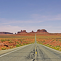 Monument Valley - The Classic View Print by Christine Till