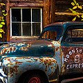 Moonshine Express Print by Debra and Dave Vanderlaan