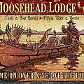Moosehead Lodge Poster by JQ Licensing