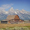 Mormon Barn 2 Poster by Marty Koch