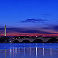 Morning Along The Potomac Print by Metro DC Photography