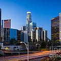 Morning in Los Angeles Print by Inge Johnsson