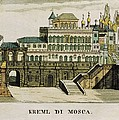 Moscow. Tsars Palace In The Kremlin Poster by Everett