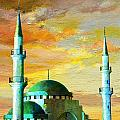 Mosque Jordan Poster by Catf