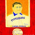 Most Expensive Baseball Card Honus Wagner T206 2 Poster by Richard W Linford