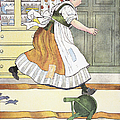 MOTHER GOOSE, 1916 Print by Granger