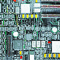 Motherboard Abstract 20130716 Poster by Wingsdomain Art and Photography
