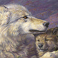 Mother's Love Print by Lucie Bilodeau