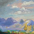 Mountain Dream Poster by Patricia Kimsey Bollinger