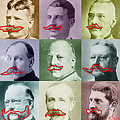 Moustaches Poster by Tony Rubino