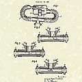 Mouthpiece 1964 Patent Art Poster by Prior Art Design