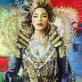 Mrs. Carter Show Art Poster - A Print by Corporate Art Task Force