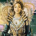 Mrs.Carter Show Poster - B Print by Corporate Art Task Force