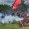 Mt Vernon Cannon Fire 4th of July Print by Jack Nevitt