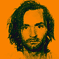 Mugshot Charles Manson p0 Poster by Wingsdomain Art and Photography
