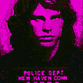 Mugshot Jim Morrison m88 Poster by Wingsdomain Art and Photography