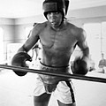 Muhammad Ali Training Inside Ring Print by Retro Images Archive