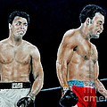 Muhammad Ali vs George Foreman by Jim Fitzpatrick