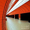 Munich subway I Print by Hannes Cmarits