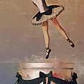 Music Box Ballet Dancer Poster by Liam Liberty