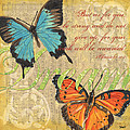 Musical Butterflies 1 by Debbie DeWitt