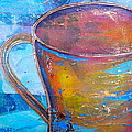 My Cup of Tea Poster by Debi Starr