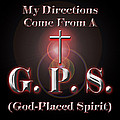 My GPS Poster by Carolyn Marshall
