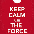 My Keep Calm Star Wars - Rebel Alliance-poster Poster by Chungkong Art