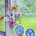MY KITCHEN WINDOW Print by Karol Wyckoff