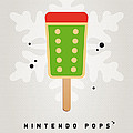 My NINTENDO ICE POP - King Bowser Print by Chungkong Art