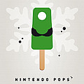 My NINTENDO ICE POP - Luigi Print by Chungkong Art