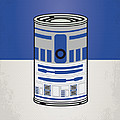 MY STAR WARHOLS R2D2 MINIMAL CAN POSTER Poster by Chungkong Art