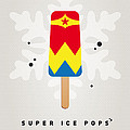 My SUPERHERO ICE POP - Wonder Woman Print by Chungkong Art