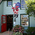Mystic Christmas Shop - Connecticut Poster by Christiane Schulze Art And Photography