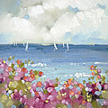 Nantucket Sea Roses Poster by Joyce Hicks