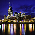 Nashville Skyline Print by Lucas Foley