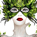 Natural Women Print by Yosi Cupano