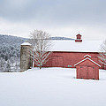 New England Barns Poster by Bill  Wakeley
