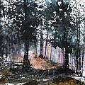 New England Landscape No.214 Print by Sumiyo Toribe
